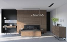 Sypialnia dla dwojga skrojona na wymiar