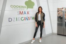 Stylowa Edyta Zając-Rzeźniczak w kuchni Cooking Challenge