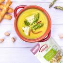 Zupa krem ze szparagów z dodatkiem pistacji prażonych bez soli