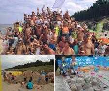 Łopaty poszły w ruch - Plażowe Mistrzostwa Budowniczych