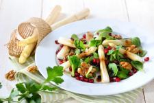 Szparagi białe + Orzechy Włoskie HELIO + Granat