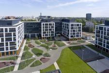 Zielone ogrody w Business Garden Wrocław