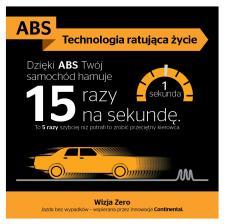 Bezpieczne hamowanie z ABS-em