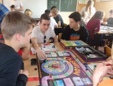 Gra planszowe w Zespole Szkół Społecznych w Białymstoku