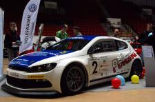 Wyścigowe Volkswageny na Motor Show Olsztyn