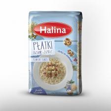 Lekkie śniadania z płatkami marki Halina