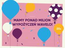 Milion wypożyczeń i nowe stacje Wavelo