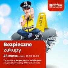 Bezpieczne zakupy w okresie przedświątecznym  – prewencyjna akcja policji w CH Czyżyny