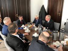 Spotkanie władz portu w Ystad z polskim Ministerstwem Gospodarki Morskiej