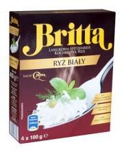 Ryż biały marki Britta – niezastąpiony dodatek do wielu dań