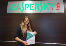 Firma Kaspersky Lab Polska wybrała Handlowca Roku 2017 w swojej sieci partnerskiej