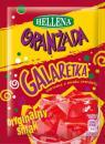 Galaretka czerwona o smaku oranżady Hellena