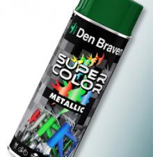 Super Color w siedmiu odsłonach – lakiery w spray'u firmy Den Braven.