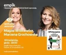 Magda Witkiewicz, Marzena Grochowska   Empik Galeria Bałtycka