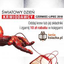 TaniaKsiazka.pl wspiera krwiodawców