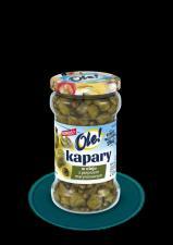 Kapary w oleju z pieprzem marynowanym w oleju OLE!