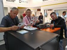 Pracowity weekend w TIS Group. Firma prezentowała swoje produkty na Łotwie i w Skandynawii