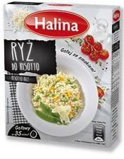 Ryż do risotto marki Halina – sposób na pyszne włoskie danie