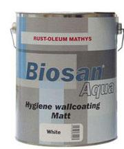 Farba bakteriobójcza - Biosan