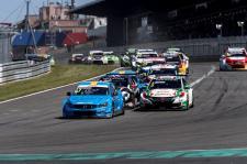 Dobry wyścig, ale też odrobina pecha Polestar Cyan Racing na Nurburgringu