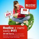 Rozlicz i wyślij PIT przez internet z centrum handlowego! Ogólnopolska akcja w CH Czyżyny