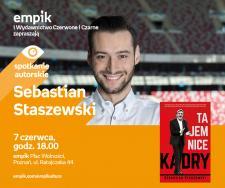 Spotkanie z Sebastianem Staszewskim w Poznaniu, 7.06