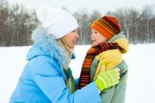 Garantire la salute dei bambini in inverno