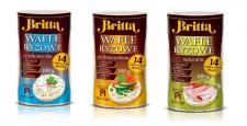 Wafle ryżowe Britta – idealna przekąska na lato
