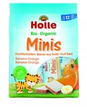 Ekologiczna nowość marki HOLLE – owocowe BIO Batoniki Minis bananowo-pomarańczowe