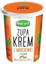 Zupa krem Marwit z marchewki z kolendrą