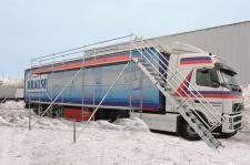 Lód na naczepach. W Polsce brakuje ramp do odśnieżania ciężarówek