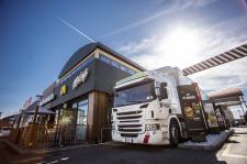 Pojazdy Scania nowej generacji wspierają sieć McDonald's w redukcji CO2