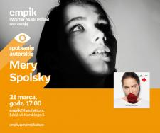 MERY SPOLSKY - SPOTKANIE AUTORSKIE