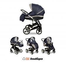 NOWOŚĆ!!! Wózek Indigo Navi Scotch 2w1 marki Indigo Pico Baby – wyjątkowy komfort dla każdego malusz