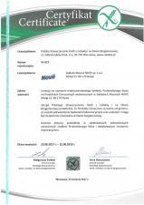 Linia Natura marki Nove ponownie wyróżniona Licencjonowanym symbolem Przekreślonego Kłosa