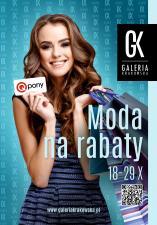 Moda na rabaty w Galerii Krakowskiej