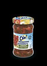 Suszone pomidory z pieprzem marynowanym w oleju z ziołami OLE!
