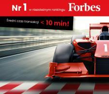Rkantor.com najszybszym kantorem internetowym w rankingu Forbes