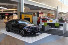 Mobilny salon samochodowy w Porcie Łódź