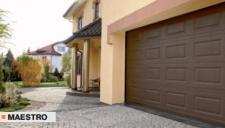 Porte da garage con uno spessore di 40mm