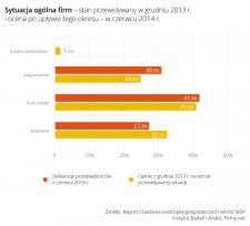 Małe firmy nie odczuły oczekiwanej poprawy w I połowie 2014 roku