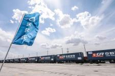 Logistyka kolejowego transportu Volvo S90 z Chin do Europy