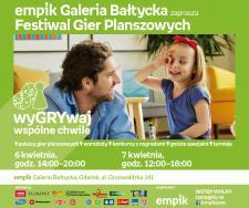 Festiwal gier planszowych | Empik Galeria Bałtycka