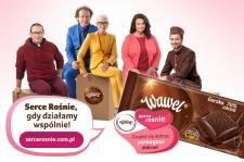2 500 000 zł od marki Wawel na cele społeczne dzięki zaangażowaniu konsumentów